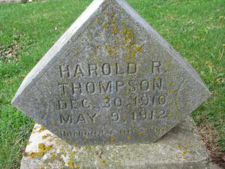 THOMPSON, HAROLD R. - Clay County, South Dakota | HAROLD R. THOMPSON - South Dakota Gravestone Photos