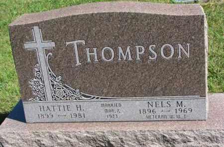 THOMPSON, HATTIE H. - Clay County, South Dakota   HATTIE H. THOMPSON - South Dakota Gravestone Photos