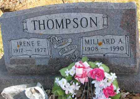 THOMPSON, IRENE E. - Clay County, South Dakota | IRENE E. THOMPSON - South Dakota Gravestone Photos
