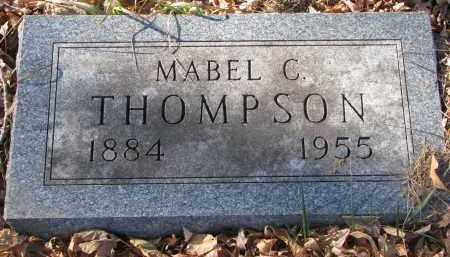 THOMPSON, MABEL C. - Clay County, South Dakota | MABEL C. THOMPSON - South Dakota Gravestone Photos