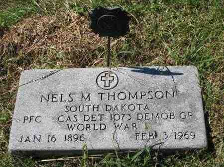 THOMPSON, NELS M. - Clay County, South Dakota | NELS M. THOMPSON - South Dakota Gravestone Photos