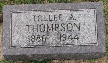 THOMPSON, TOLLEF A. - Clay County, South Dakota | TOLLEF A. THOMPSON - South Dakota Gravestone Photos