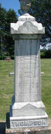 THOMPSON, T.W. - Clay County, South Dakota | T.W. THOMPSON - South Dakota Gravestone Photos