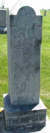 THOMPSON, THOMAS A. - Clay County, South Dakota   THOMAS A. THOMPSON - South Dakota Gravestone Photos