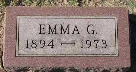THRANE, EMMA G. - Clay County, South Dakota | EMMA G. THRANE - South Dakota Gravestone Photos