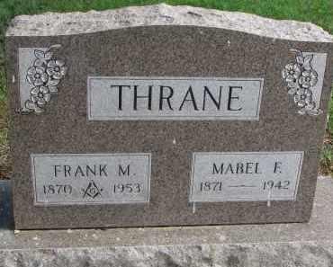 THRANE, MABEL F. - Clay County, South Dakota | MABEL F. THRANE - South Dakota Gravestone Photos