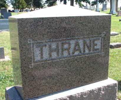 THRANE, FAMILY STONE - Clay County, South Dakota | FAMILY STONE THRANE - South Dakota Gravestone Photos