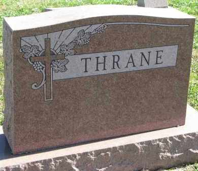 THRANE, FAMILY STONE - Clay County, South Dakota | FAMILY STONE THRANE - South Dakota Gravestone Photos
