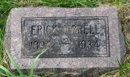 TORELL, ERICK - Clay County, South Dakota   ERICK TORELL - South Dakota Gravestone Photos