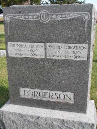 TORGERSON, SIRI MIRIA - Clay County, South Dakota | SIRI MIRIA TORGERSON - South Dakota Gravestone Photos