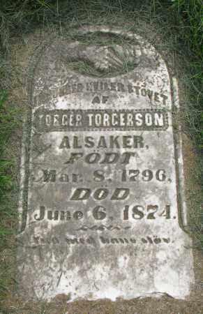 TORGERSON, TORGER - Clay County, South Dakota   TORGER TORGERSON - South Dakota Gravestone Photos
