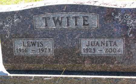TWITE, JUANITA - Clay County, South Dakota | JUANITA TWITE - South Dakota Gravestone Photos