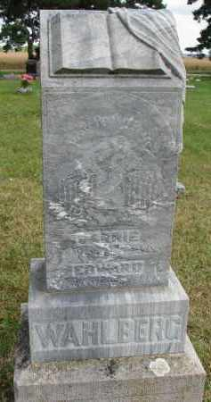 WAHLBERG, CARRIE - Clay County, South Dakota | CARRIE WAHLBERG - South Dakota Gravestone Photos