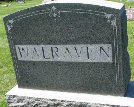 WALRAVEN, FAMILY STONE - Clay County, South Dakota | FAMILY STONE WALRAVEN - South Dakota Gravestone Photos