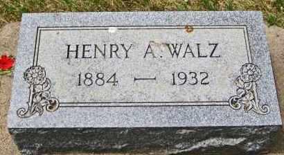 WALZ, HENRY ALOYSIUS - Clay County, South Dakota | HENRY ALOYSIUS WALZ - South Dakota Gravestone Photos
