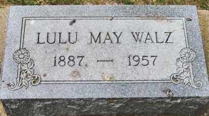 CHAUSSEE WALZ, LULU MAY - Clay County, South Dakota | LULU MAY CHAUSSEE WALZ - South Dakota Gravestone Photos