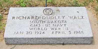 WALZ, RICHARD DUDLEY - Clay County, South Dakota | RICHARD DUDLEY WALZ - South Dakota Gravestone Photos