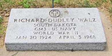 WALZ, RICHARD DUDLEY - Clay County, South Dakota | RICHARD DUDLEY WALZ - South Dakota Gravestone Photos