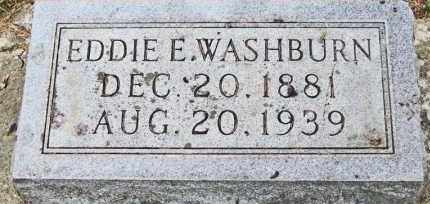 WASHBURN, EDDIE E. - Clay County, South Dakota | EDDIE E. WASHBURN - South Dakota Gravestone Photos