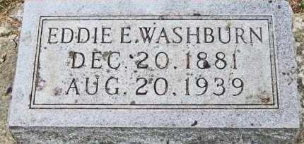 WASHBURN, EDDIE E. - Clay County, South Dakota | EDDIE E. WASHBURN - South Dakota Gravestone Photos