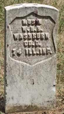 WASHBURN, WILLIAM HENRY HARRISON - Clay County, South Dakota | WILLIAM HENRY HARRISON WASHBURN - South Dakota Gravestone Photos