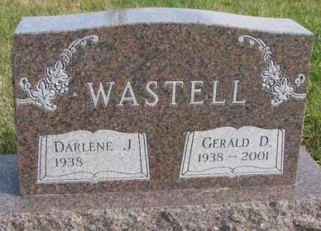 WASTELL, DARLENE J. - Clay County, South Dakota | DARLENE J. WASTELL - South Dakota Gravestone Photos