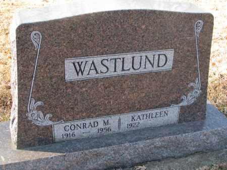 WASTLUND, KATHLEEN - Clay County, South Dakota | KATHLEEN WASTLUND - South Dakota Gravestone Photos