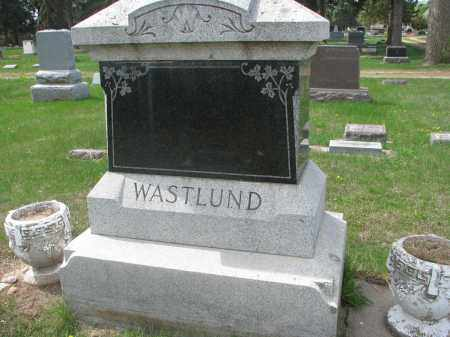 WASTLUND, FAMILY STONE - Clay County, South Dakota   FAMILY STONE WASTLUND - South Dakota Gravestone Photos