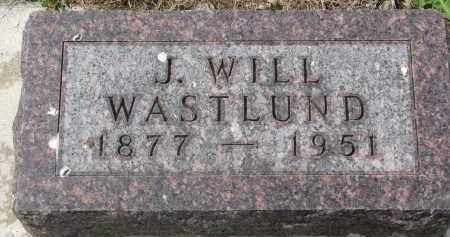 WASTLUND, J. WILL - Clay County, South Dakota | J. WILL WASTLUND - South Dakota Gravestone Photos