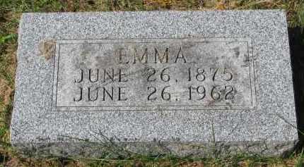 WESTBURG, EMMA - Clay County, South Dakota | EMMA WESTBURG - South Dakota Gravestone Photos