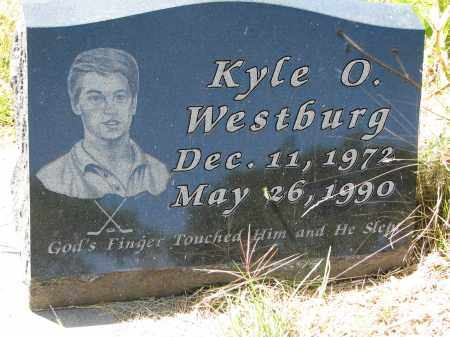 WESTBURG, KYLE O. - Clay County, South Dakota | KYLE O. WESTBURG - South Dakota Gravestone Photos