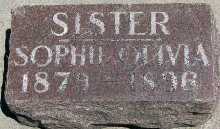 WESTEEN, SOPHIE OLIVIA - Clay County, South Dakota | SOPHIE OLIVIA WESTEEN - South Dakota Gravestone Photos