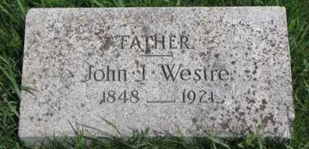 WESTRE, JOHN J. - Clay County, South Dakota | JOHN J. WESTRE - South Dakota Gravestone Photos