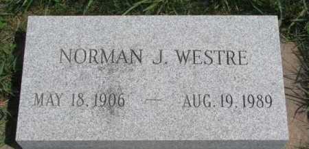 WESTRE, NORMAN JAY - Clay County, South Dakota | NORMAN JAY WESTRE - South Dakota Gravestone Photos