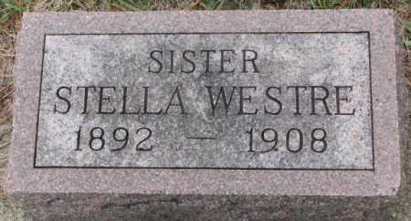 WESTRE, STELLA - Clay County, South Dakota | STELLA WESTRE - South Dakota Gravestone Photos