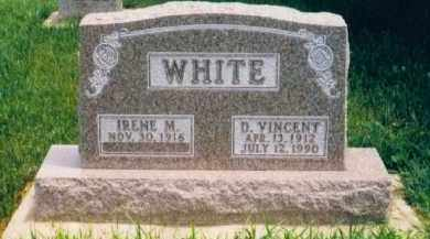 WHITE, D. VINCENT - Clay County, South Dakota | D. VINCENT WHITE - South Dakota Gravestone Photos
