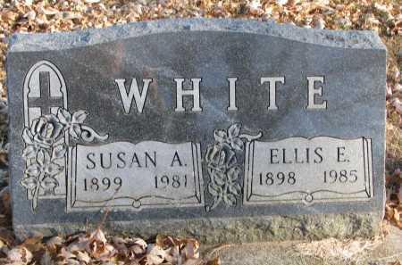 WHITE, SUSAN ARVILLA - Clay County, South Dakota | SUSAN ARVILLA WHITE - South Dakota Gravestone Photos