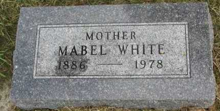 SWEELEY WHITE, MABEL - Clay County, South Dakota | MABEL SWEELEY WHITE - South Dakota Gravestone Photos