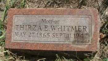 WHITMER, THIRZA E. - Clay County, South Dakota | THIRZA E. WHITMER - South Dakota Gravestone Photos