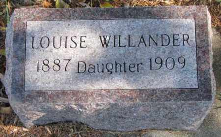 WILLANDER, LOUISE - Clay County, South Dakota | LOUISE WILLANDER - South Dakota Gravestone Photos