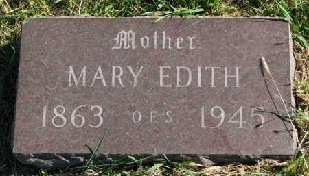 WILLIAMS, MARY EDITH - Clay County, South Dakota | MARY EDITH WILLIAMS - South Dakota Gravestone Photos