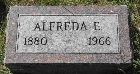 WILLIAMSON, ALFREDA E. - Clay County, South Dakota | ALFREDA E. WILLIAMSON - South Dakota Gravestone Photos