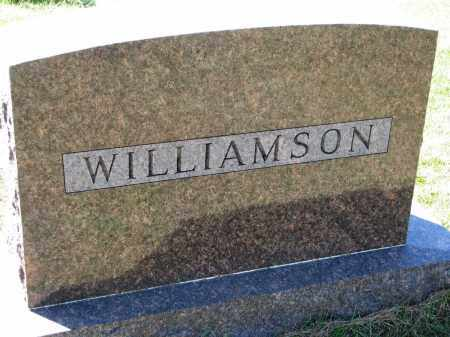 WILLIAMSON, FAMILY STONE - Clay County, South Dakota | FAMILY STONE WILLIAMSON - South Dakota Gravestone Photos