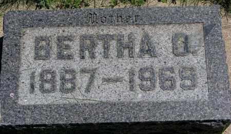 WOLD, BERTHA O. - Clay County, South Dakota | BERTHA O. WOLD - South Dakota Gravestone Photos