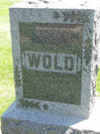 WOLD, FAMILY STONE - Clay County, South Dakota | FAMILY STONE WOLD - South Dakota Gravestone Photos