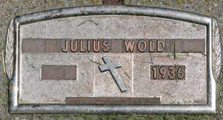 WOLD, JULIUS - Clay County, South Dakota | JULIUS WOLD - South Dakota Gravestone Photos