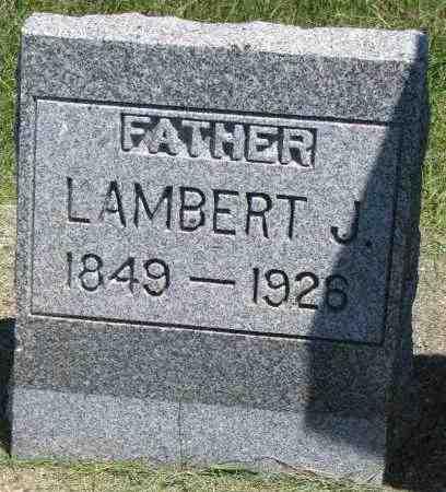 WOLD, LAMBERT J. - Clay County, South Dakota   LAMBERT J. WOLD - South Dakota Gravestone Photos