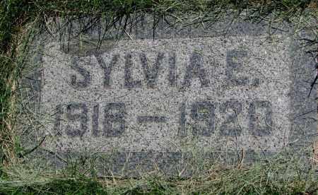 WOLD, SYLVIA E. - Clay County, South Dakota | SYLVIA E. WOLD - South Dakota Gravestone Photos
