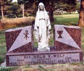 WOLF, HUGH K. - Clay County, South Dakota | HUGH K. WOLF - South Dakota Gravestone Photos