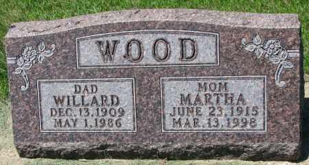 WOOD, WILLARD - Clay County, South Dakota   WILLARD WOOD - South Dakota Gravestone Photos